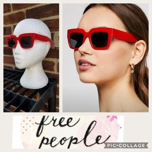 New Free People red square sunglasses FINAL